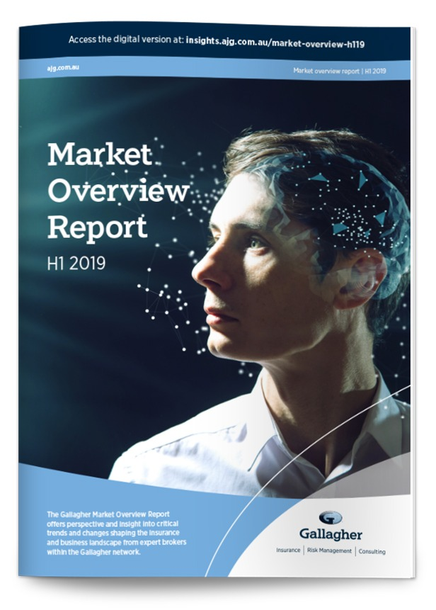Gallagher Market Overview Report H1 2019 front cover